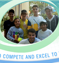 Dimitar Tennis Academy at Fess Parkers Double Tree Resort Santa Barbara, California - Learn to compete and excel to the next level!