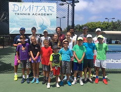 Dimitar Tennis Academy is the training base for international ITF players