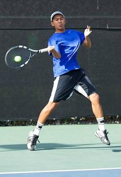 Kento Perera - one of rising players of Dimitar Tennis Academy